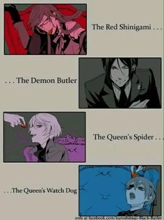 Find images and videos about kuroshitsuji, black butler and ciel phantomhive on We Heart It - the app to get lost in what you love. Black Butler Comics, Black Butler Funny, Black Butler Texts, Black Butler Quotes, Me Anime, Anime Meme, Anime Guys, Anime Art, Ciel Phantomhive