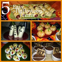 The Nurse Mommy- Halloween Food Ideas!