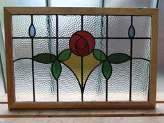 ステンドグラス 花柄