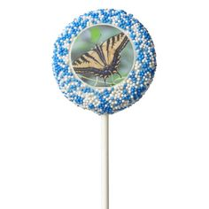 Tiger Swallowtail Dipped Oreo Pops Chocolate Dipped Oreo Pop