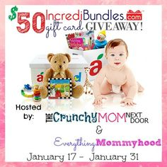 IncrediBundles make great #baby shower gifts! #Win a $50 gift card! #giveaway #giveaways