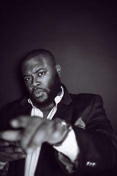 blackfashion: Hold up who said big guys cant clean up Big Black, Black Men, Beard Styles For Men, Beard Love, Beard Grooming, Who Said, Beard Gang, Big Guys, Hold Ups