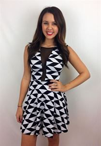 Junky Trunk Boutique. Checkmate dress