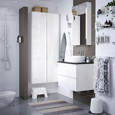 76 mejores imágenes de Baños | Bathroom vanity cabinets, Bathroom y ...