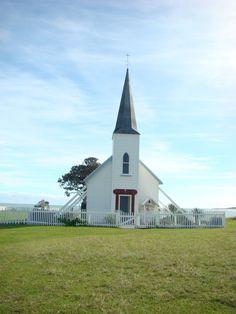 Beautiful old church at Raukokore, East Coast, NZ