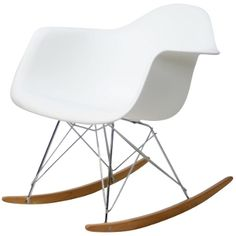 Plastic Rocking Chair Modern Classic Rocking Lounge Chair