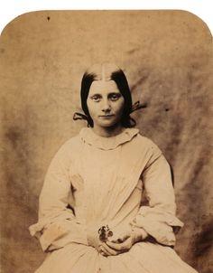 Lewis Carroll. Fine Art Photography. Fanny Smith. 1859.