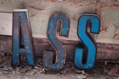 -BACH. #letters #ass #rust #decay