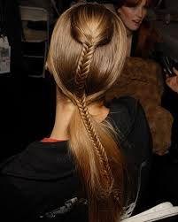 The Fishtail Braid Hairstyles Fishtail Braid Hairstyles, Braided Hairstyles, Cool Hairstyles, Fishtail Ponytail, Wedding Hairstyles, Famous Hairstyles, Double Ponytail, Homecoming Hairstyles, Hairstyle Ideas