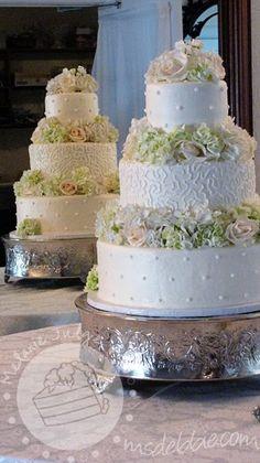 wedding cake designs buttercream - Google Search