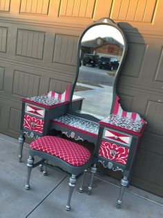 Brittany Pistole - Funky Funriture Facelifts - Snow White Approved 44 furniture furniture bedroom furniture# - June 29 2019 at Whimsical Painted Furniture, Painted Bedroom Furniture, Funky Furniture, Refurbished Furniture, Repurposed Furniture, Unique Furniture, Furniture Projects, Furniture Makeover, Vintage Furniture