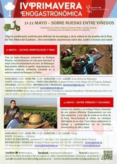 Agenda - Ruta del vino RIBERA DEL GUADIANA