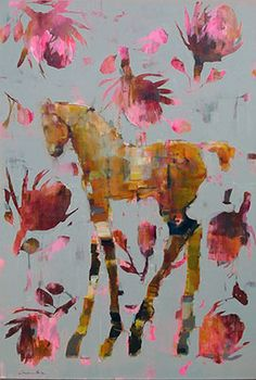 Protea Filly - Painting by Pascale Chandler