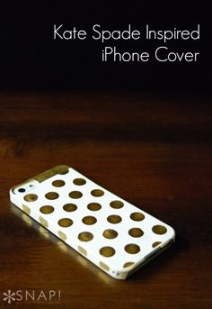 Kate Spade Inspired iPhone Case