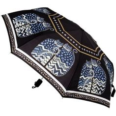 LAUREL BURCH CAT COMPACT UMBRELLA