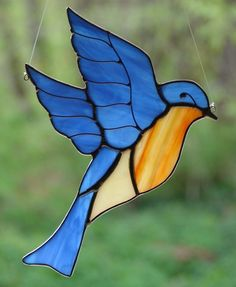 Bluebird of Happiness. $16.00, via Etsy.
