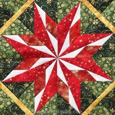 Carol Doak Nebraska Star, seen at Walnut Street Quilts