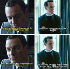 Father Jim<<<this is legit af. <<<< forgive me father for i am about to sin Benedict Sherlock, Sherlock Fandom, Sherlock Holmes, Sebastian Moran, James Moriarty, Andrew Scott, 221b Baker Street, Johnlock, Old Tv