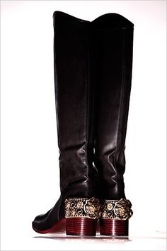 Chanel boots...