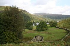 In the Lake District of England