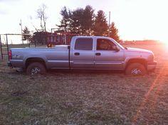 Duramax stuck in the mud!!