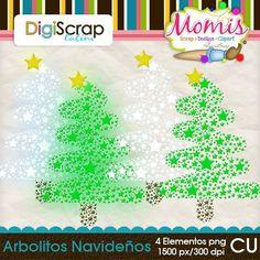 Arbolitos Navideños - $1.00 : DigiScrap Latino