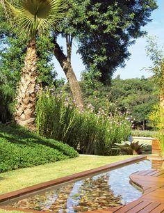 Espaço para visitante: aprenda como montar um espelho-d'água no seu jardim - Paisagismo - Plantas, Flores e Jardins