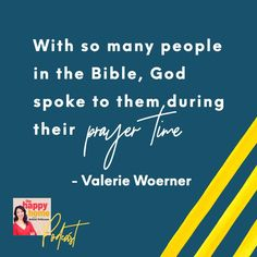 Are you satisfied with your prayer life? Maybe you feel too busy to pray, or quite honestly, you find prayer boring. No more boring prayers! Author of Pray Confidently and Consistently, Valerie Woerner is here to give us a primer on prayer. What did generations before us to do pray (and how can we follow in their footsteps)?Learn how to freshen up your prayer life and watch how God will move mountains in your life and family. Move Mountains, Before Us, Pray, How Are You Feeling, Bible, Author, God, Feelings, Learning