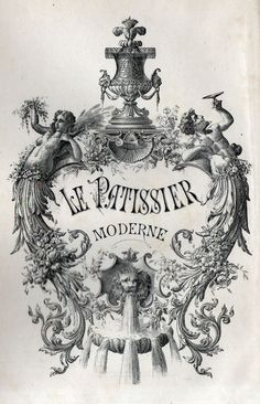 r/012 - Le patissier moderne - 19th century's cookbook