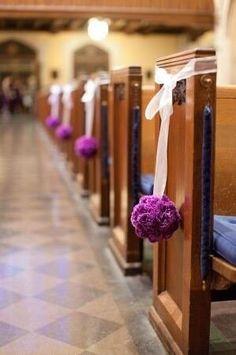Church Decorations for wedding Wedding Pew Decorations, Wedding Pews, Wedding Isles, Wedding Chairs, Wedding Centerpieces, Diy Wedding, Flower Centerpieces, Dream Wedding, Church Decorations