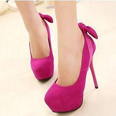 bombas de tacón de aguja del partido de las mujeres / los zapatos de tacón con plataforma (más colores) – USD $ 24.99