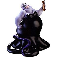 WDCC Disney Classics The Little Mermaid Ursula We Made A Deal (event Sculpture) #WDCCDisneyClassics #Art. Contract: Ursula's contract is finished with gold paint. Fall Event-1998.Closed 11/98 Ursula proudly holds up her prized contract in victory. The contract that will give her Ariel's voice in exchange for Ariel becoming a human being.