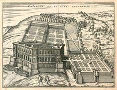 Villa Farnese, Caprarole, Vignola 1559, manýrismus
