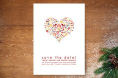 Love Birds Save the Date Cards by Jana Volfova at minted.com
