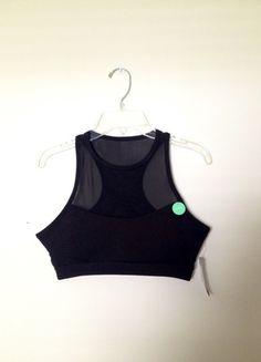 Buy my item on #vinted http://www.vinted.com/womens-clothing/bras/17757870-nwt-black-mesh-f21-racer-back-sports-bra