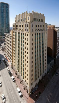 Sinclair Building, Main Street, Fort Worth, Texas, U.S.A. Designed by Wiley G. Clarkson, 1930.