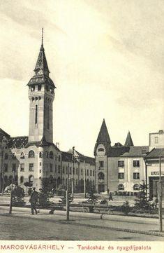 Városháza és Nyugdíjpalota még Kultúrpalota nélkül,1911. Notre Dame, Big Ben, Building, Travel, Voyage, Buildings, Viajes, Traveling, Trips