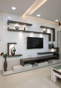 Living Room Partition Design, Living Room Tv Unit Designs, Ceiling Design Living Room, Room Partition Designs, Bedroom False Ceiling Design, Tv Wall Design, Home Room Design, Tv Wall Unit Designs, Tv Unit For Living Room