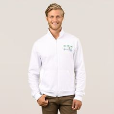 Beach Tourist Mens Jacket - personalize gift idea special custom diy or cyo