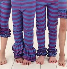 Royal Stripes & More Stripes Pants, Shorts and Capris - Adorable Essentials, LLC - 1