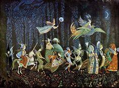 """Thorn Rose"" by Errol Le Cain Dragon Kite, Medieval Tapestry, Banner, Medieval World, Black And White Illustration, Children's Book Illustration, Book Illustrations, Animation Film, Faeries"