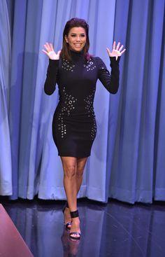 4d75e7f8bc6 Eva Longoria Photos Photos  Eva Longoria Visits  The Tonight Show Starring  Jimmy Fallon