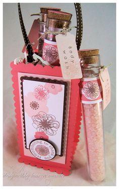 Cute idea for a spa gift