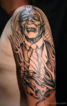 04dee02d0d996 30 best Zombie Sleeve Tattoo Designs images in 2017 | Arm Tattoo ...