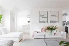 Black and White Home Decor . 24 New Black and White Home Decor . Elegant Black and White Interior Design with fortable atmosphere White Kitchen Decor, White Home Decor, Black Decor, Black And White Interior, White Interior Design, Decor Scandinavian, Scandinavian Apartment, Apartment Renovation, Trendy Home