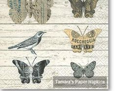 Shabby Chic Butterfly Paper Napkins for Decoupage Paper Butterflies, Butterfly, Shabby Chic Napkins, Christmas Paper Napkins, Paper Napkins For Decoupage, Bird Boxes, Retro Vintage, Etsy Seller, Colours
