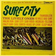 Surf Music, Soul Surfer, Surf City, Music Games, Lps, Surfing, Books, Products, Libros
