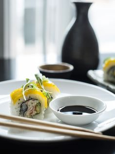 Taste some delicious sushi at the Ebisu restaurant when you travel to Auckland.