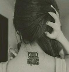 Owl tattoo x