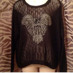 Brand New Ralph Lauren Sweater I got this from another POSHER but it didn't fit me at all.. It's very cute and I would love to keep but I can't keep holding on to clothes that are to big when I am losing more weight.. My loss is ur gain.. Ralph Lauren Sweaters